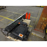 2013 HYSTER V30ZMU 3000 LB ELECTRIC MAN-UP TURRET FORKLIFT CUSHION 128/255 3 STAGE MAST STOCK # BF9185579-289-C2CB