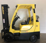 "2008 HYSTER S60FT 6000 LB LP GAS FORKLIFT 3017 HOURS CUSHION 84/185"" 3 STAGE MAST SIDE SHIFTER STOCK # BF977879-BUF - United Lift Used & New Forklift Telehandler Scissor Lift Boomlift"