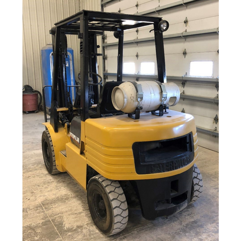 2001 CATERPILLAR GP30 6000 LB LP GAS FORKLIFT PNEUMATIC 94
