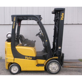 2007 YALE GLC050 5000 LB LP GAS FORKLIFT CUSHION 83/189 3 STAGE MAST STOCK # BF34865-DPKN