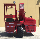 "2006 MANITOU TMT55 5500 LB DIESEL SOD LOADER FORKLIFT PNEUMATIC 10"" LIFT SIDE SHIFTER 2800 HOURS STOCK # BF915919-PEWA - united-lift-equipment"