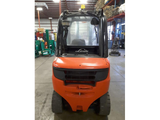 "2015 LINDE H35D 7000 LB DIESEL FORKLIFT PNEUMATIC 99/144"" 2 STAGE MAST PLUMBED 4 WAYS STOCK # BF923140-PEIN - united-lift-equipment"