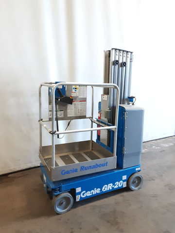 2018 GENIE GR20 PERSONAL RUNABOUT LIFT 20' REACH ELECTRIC 2 AVAILABLE LOW HOURS STOCK # BF989739-NCB