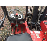 "2005 MOFFETT M3 20.3 4500 LB TRUCK MOUNTED DIESEL FORKLIFT PNEUMATIC 78"" 2 STAGE MAST SIDE SHIFTER STOCK # BF91751129-PEWA - united-lift-equipment"