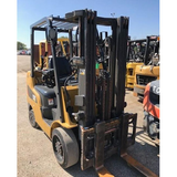 2012 CAT 2C6000 6000 LB LP GAS FORKLIFT CUSHION 77/170 3 STAGE MAST SIDE SHIFTER STOCK # BF91299-KIN