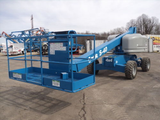 2001 GENIE S40 TELESCOPIC BOOM LIFT AERIAL LIFT 40' REACH DUAL FUEL 4WD 3783 HOURS STOCK # BF9149129-TSGA