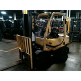 2007 HYSTER H50FT 5000 LB DIESEL FORKLIFT PNEUMATIC 83/188 3 STAGE MAST SIDE SHIFTER 3400 HOURS STOCK # BF9125209-ALTB