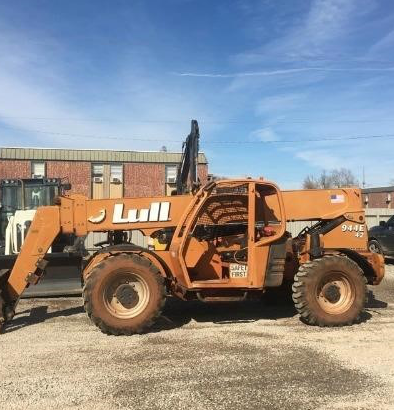2003 LULL 944E-42 9000 LB DIESEL TELESCOPIC FORKLIFT TELEHANDLER PNEUMATIC 4WD STOCK # BF9363259-PEOK - united-lift-equipment