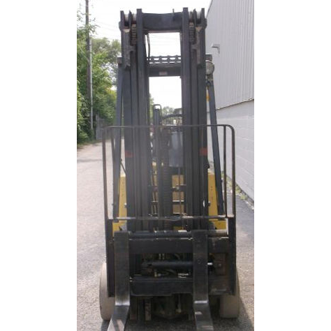 HYSTER E35XL 3500 LB ELECTRIC CUSHION 83/188 3 STAGE MAST SIDE SHIFTER  STOCK # BF9571519-DPKN