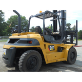 2007 CATERPILLAR P17500 17500 LB DIESEL FORKLIFT DUAL TIRE PNEUMATIC 160/217 2 STAGE MAST SIDE SHIFTER STOCK # BF9349229-459-WEBFL