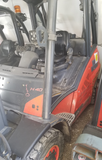 "2012 LINDE H40D 8000 LB DIESEL FORKLIFT PNEUMATIC 93/184"" 3 STAGE MAST SIDE SHIFTER 2348 HOURS STOCK # BF92919-PEIA - united-lift-equipment"