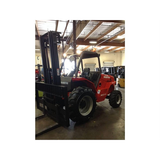 "2012 Manitou M30-4 6,000 LB DIESEL ROUGH TERRAIN FORKLIFT 4WD 122/270"" 3 STAGE MAST STOCK # BF93759-499-CAB"