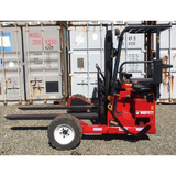 "2006 MOFFETT M3 20.3 4500 LB TRUCK MOUNTED DIESEL FORKLIFT PNEUMATIC 78"" 2 STAGE MAST SIDE SHIFTER 2991 HOURS STOCK # BF91851129-PEWA - united-lift-equipment"