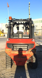 "2012 LINDE H40D 8000 LB DIESEL FORKLIFT PNEUMATIC 93/123"" 2 STAGE MAST PLUMBED 4 WAYS STOCK # BF923139-PEIA - united-lift-equipment"