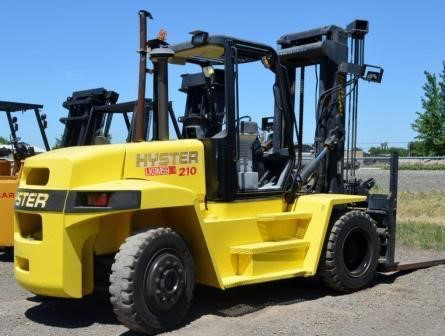 2006 HYSTER H210HD 21000 LB DIESEL FORKLIFT PNEUMATIC 2 STAGE MAST DUAL TIRES STOCK # BF9425459-FWTX - United Lift Used & New Forklift Telehandler Scissor Lift Boomlift