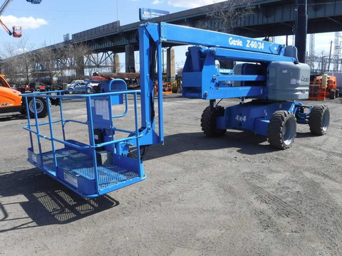 2011 GENIE Z60/34 BOOM LIFT 60' REACH DEUTZ DIESEL 4X4 2685 HOURS STOCK # BF9412479-PEPA