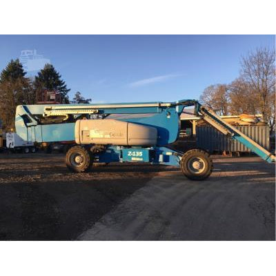 2005 GENIE Z135/70 ARTICULATING BOOM LIFT AERIAL LIFT 135' REACH DIESEL 4573 HOURS STOCK # BF9678679-799-ORB