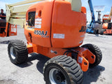 2008 JLG 450AJ ARTICULATING BOOM LIFT AERIAL LIFT WITH JIB ARM 45' REACH DIESEL 4WD 1945 HOURS STOCK # BF9278849-VAOH