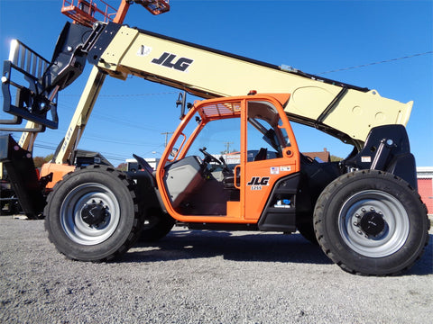 2020 JLG 1255 12000 LB DIESEL TELESCOPIC FORKLIFT TELEHANDLER PNEUMATIC OPEN CAB 4WD BRAND NEW STOCK # BF91385189-VAOH - United Lift Equipment LLC