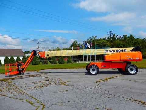 2012 JLG 1350SJP DIESEL 135' REACH PNEUMATIC BOOM LIFT STRAIGHT WITH JIB STK # BF91098769-PAB