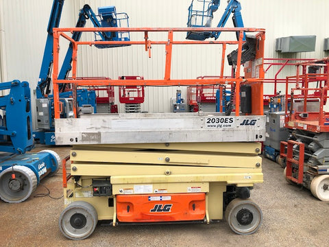 2013 JLG 2030ES SCISSOR LIFT 20' REACH ELECTRIC CUSHION 147 HOURS STOCK # BF958519-WIB