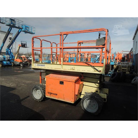 2005 JLG 260MRT SCISSOR LIFT 26' REACH DIESEL ROUGH TERRAIN 4WD 1290 HOURS STOCK # BF9125-BUF - Buffalo Forklift LLC
