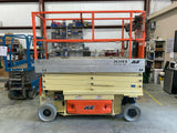 2012 JLG 2630ES SCISSOR LIFT 26' REACH ELECTRIC CUSHION TIRES 428 HOURS STOCK # BF989329-BAYTX - United Lift Used & New Forklift Telehandler Scissor Lift Boomlift