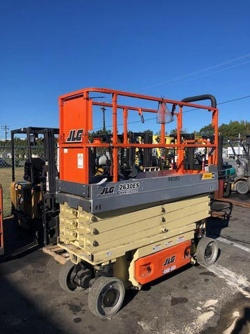 2014 JLG 2630ES SCISSOR LIFT 26' REACH ELECTRIC CUSHION TIRES 225 HOURS STOCK # BF989539-NCB