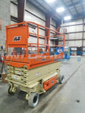 2011 JLG 3246ES SCISSOR LIFT 32' REACH ELECTRIC SMOOTH CUSHION TIRES 522 HOURS STOCK # BF978549-WIB