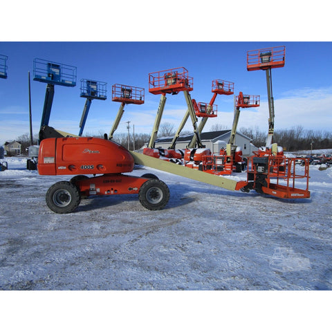 2003 JLG 400S TELESCOPIC BOOM LIFT AERIAL LIFT 40' REACH DIESEL 4WD 1224 HOURS STOCK # BF9246189-309-BNYB