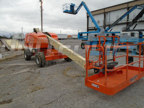 2014 JLG 400S REFURB (2007 BODY) TELESCOPIC BOOM LIFT AERIAL LIFT 40' REACH DIESEL 4WD 420 HOURS STOCK # BF9228539-BUF