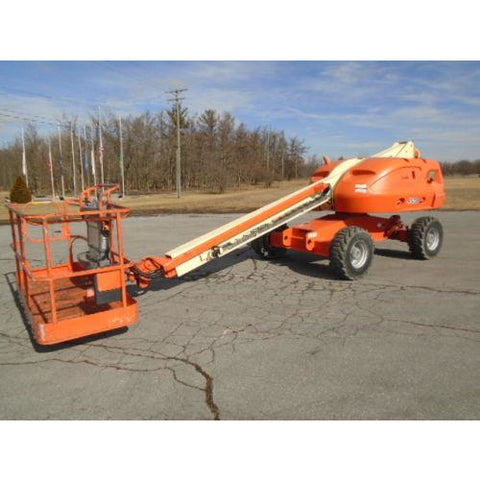 2007 JLG 400S TELESCOPIC BOOM LIFT AERIAL LIFT 40' REACH DIESEL 4WD 5273 HOURS STOCK # BF9199629-PAB