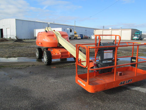2012 JLG 400S TELESCOPIC BOOM LIFT AERIAL LIFT 40' REACH DIESEL 4WD 1957 HOURS STOCK # BF9244579-329-WITNB - united-lift-equipment
