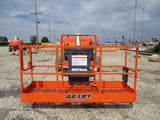 2007 JLG 400S TELESCOPIC BOOM LIFT AERIAL LIFT 40' REACH DIESEL 4WD 2967 HOURS STOCK # BF9249329-CEIL - United Lift Used & New Forklift Telehandler Scissor Lift Boomlift