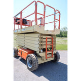 2008 JLG 4069LE SCISSOR LIFT 40' REACH ELECTRIC PNEUMATIC TIRES 326 HOURS STOCK # BF19529-DPA