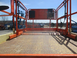 2011 JLG 4069LE SCISSOR LIFT 40' REACH ELECTRIC PNEUMATIC TIRES OUTRIGGERS 430 HOURS STOCK # BF9166589-WIB