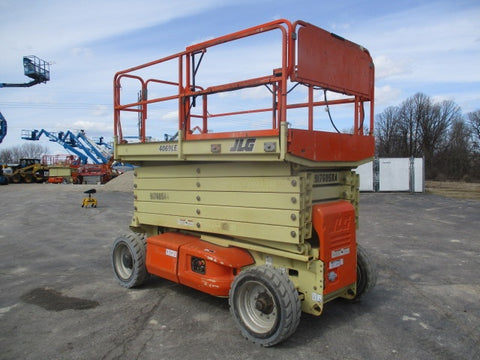 2012 JLG 4069LE SCISSOR LIFT 40' REACH ELECTRIC PNEUMATIC TIRES 390 HOURS STOCK # BF9155579-WIB