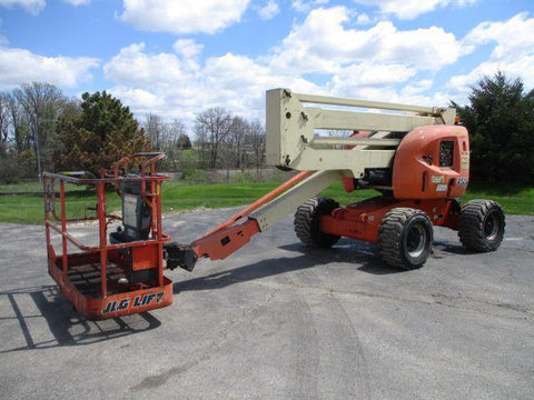 2011 JLG 450A ARTICULATING BOOM LIFT AERIAL LIFT 45' REACH DIESEL 4WD 2175 HOURS STOCK # BF9248529-WIB
