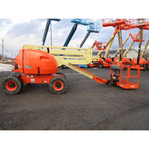 2004 JLG 450A ARTICULATING BOOM LIFT AERIAL LIFT 45' REACH DIESEL 4WD 3654 HOURS STOCK # BF9206379-269-BNYB