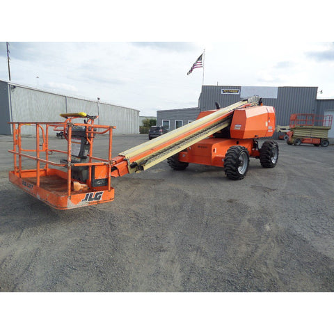 2013 JLG 600S TELESCOPIC BOOM LIFT AERIAL LIFT 60' REACH DIESEL 4WD 3361 HOURS STOCK # BF95654119-649-VAOH