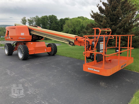 2017 JLG 600S TELESCOPIC BOOM LIFT AERIAL LIFT 60' REACH DIESEL 4WD 218 HOURS STOCK # BF9839529-INNY