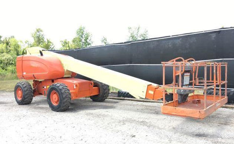 1999 JLG 600S TELESCOPIC BOOM LIFT AERIAL LIFT 60' REACH DIESEL 4WD 4100 HOURS STOCK # BF9119539-WIBIL