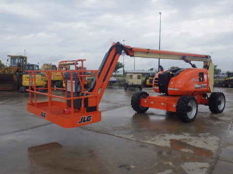 2018 JLG 600AJ ARTICULATING BOOM LIFT AERIAL LIFT WITH JIB 60' REACH DIESEL 4WD 34 HOURS STOCK # BF9875549-ILTIL