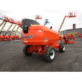 2012 JLG 660 SJ TELESCOPIC BOOM LIFT AERIAL LIFT WITH JIB ARM 66' REACH DIESEL 4WD 3218 HOURS STOCK # BF9726289-789-BNYB