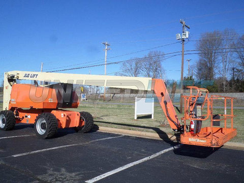 2005 JLG 800A TELESCOPIC BOOM LIFT AERIAL LIFT WITH JIB 80' REACH DIESEL 4WD 1515 HOURS STOCK # BF9369159-PABNC
