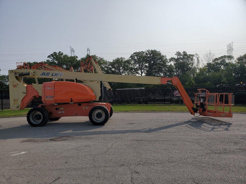 2006 JLG 800AJ TELESCOPIC ARTICULATING BOOM LIFT AERIAL LIFT WITH JIB ARM 80' REACH DIESEL 4WD 4470 HOURS STOCK # BF9339859-RIL - United Lift Used & New Forklift Telehandler Scissor Lift Boomlift