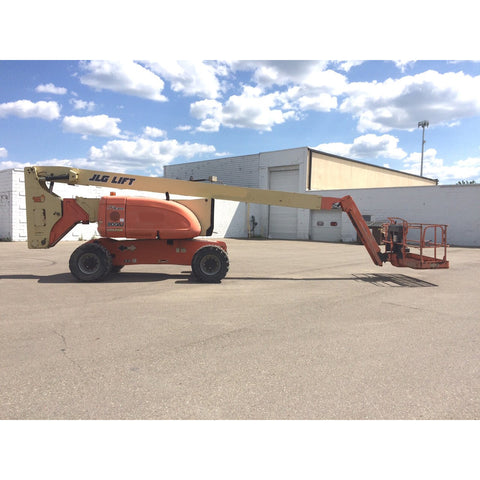 2008 JLG 800AJ TELESCOPIC BOOM LIFT AERIAL LIFT 80' REACH DIESEL 4WD 2963 HOURS STOCK # BF9355489-499-MIB