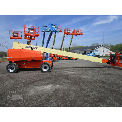 2011 JLG 800S TELESCOPIC BOOM LIFT AERIAL LIFT 80' REACH DIESEL 4WD 1448 HOURS STOCK # BF9627489-689-BNYB