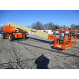 2008 JLG 800S TELESCOPIC BOOM LIFT AERIAL LIFT 80' REACH DIESEL 4WD 4767 HOURS STOCK # BF9364589-499-WIB