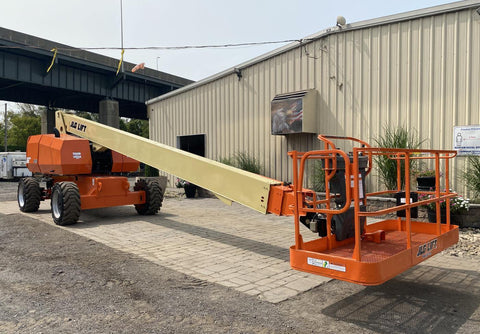 2015 JLG 800S TELESCOPIC STRAIGHT BOOM LIFT AERIAL LIFT 80' REACH DIESEL 4WD 2001 HOURS STOCK # BF9527549-NLEQ - United Lift Used & New Forklift Telehandler Scissor Lift Boomlift